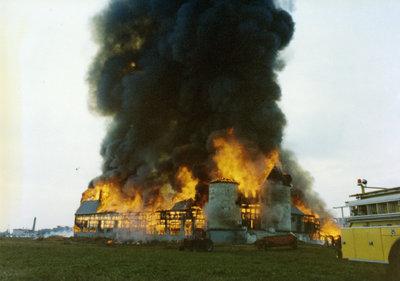 Whitby Psychiatric Hospital Barn Fire, 1976