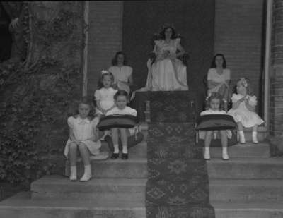 May Queen Celebration 1946