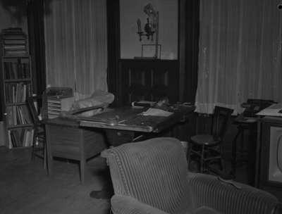 Office of Councillor Oscar Moore, c.1949