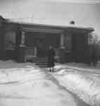 Gertrude Bryan at 206 Byron St. N., 1945