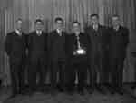 Pickering Town League Bowling Champs (Image 1 of 2), April 7, 1948