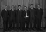 Pickering Town League Bowling Champs (Image 2 of 2), April 7, 1948
