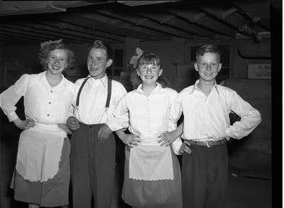 Town Line School Students (Image 1 of 4), June 8, 1948