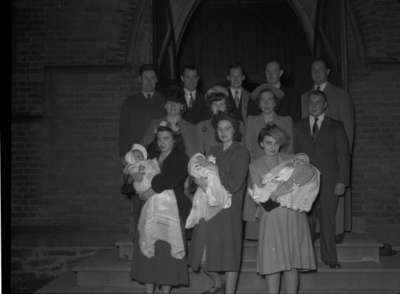 Town Christening, 1948