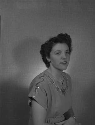 Miss F. Jordan, 1948