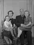 Roy Brown family group