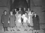 W.C. Town Christening at All Saints Church, Whitby, Ontario, 1948