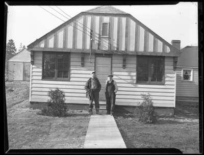 Jack Scott and George Steffler, c.1948