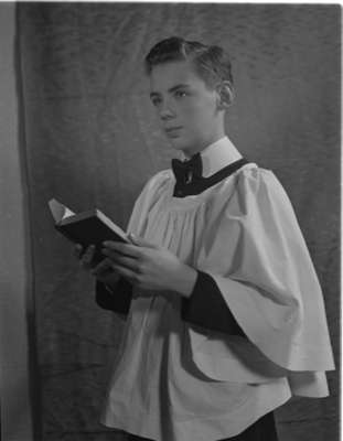 Bob Channen in Choir Robes (Image 2 of 2)