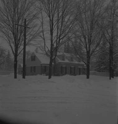 Harry Donald Residence in Winter, 1945