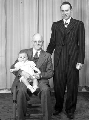 Moorehouse Family - 3 Generations (Image 2 of 2)