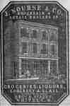 J. Nourse and Co. Store Lithograph