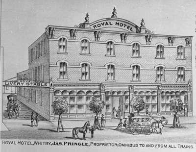 Royal Hotel Whitby Ontario