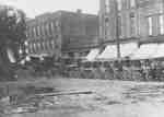 Laying Sewers on Brock Street
