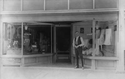 Roy W. Talling Mens Wear Store