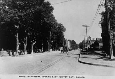 Dundas Street looking east from Centre Street