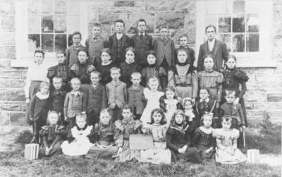 Class Photo, Ashburn School, c.1898