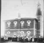 Brooklin Public School, c.1889