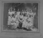 Sunday School Class at Brooklin Methodist Church, 1915