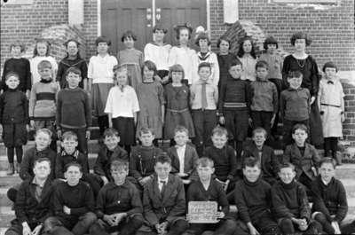 Brooklin School Class, Room 2, 1924