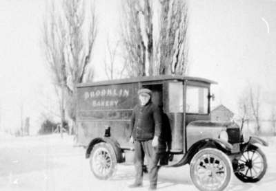 Thearn Kivell and Brooklin Bakery Delivery Truck