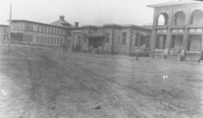 Infirmary and Dining Hall at Military Convalescent Hospital, c.1917