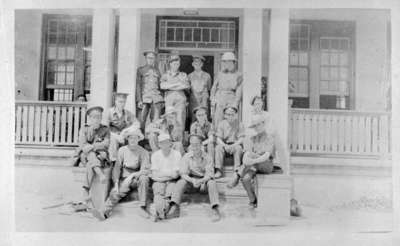 Soldiers at Military Convalescent Hospital, c.1917
