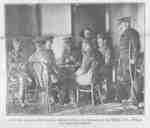 Soldiers Playing Cards at Military Convalescent Hospital, 1917