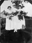 Miss Bryan and Two Graduates of the School of Nursing, 1925