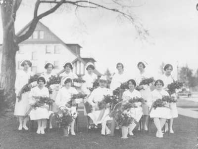 School of Nursing Graduates at Ontario Hospital Whitby, 1928