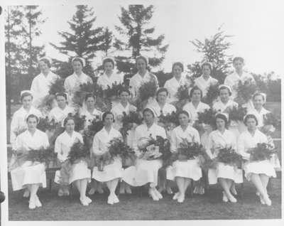 School of Nursing Graduates, Ontario Hospital Whitby, 1934