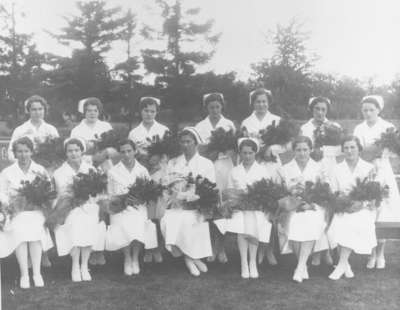 School of Nursing Graduates, Ontario Hospital Whitby, 1935