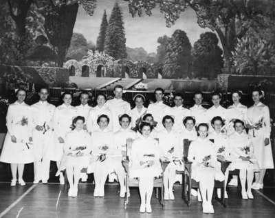 School of Nursing Graduates, Ontario Hospital Whitby, 1940