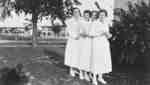 Four Nurses at Ontario Hospital Whitby, c.1935