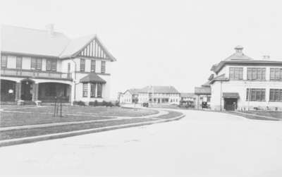 Cottages and Infirmary at Ontario Hospital Whitby, c.1923
