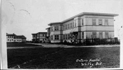 Annex Buildings, Ontario Hospital Whitby, c.1923