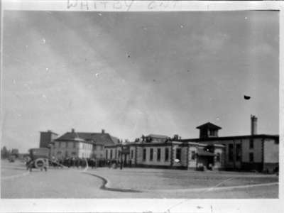 Military Band, Dining Hall and Recreation Hall at Military Convalescent Hospital, c.1918