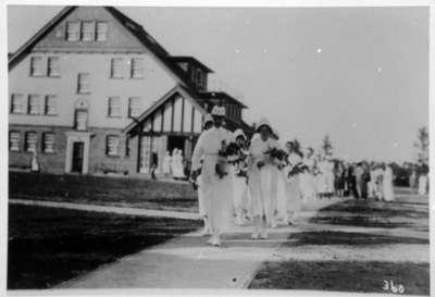 School of Nursing Graduates, Ontario Hospital Whitby, c.1924