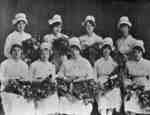 Nurses, Ontario Hospital Whitby, August 15, 1923
