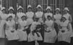 Nurses, Ontario Hospital Whitby, 1925.