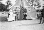 Carnival Tent at the Military Convalescent Hospital, 1919