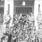 Band at Military Convalescent Hospital, c.1917