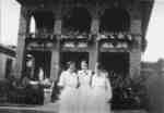 Girls in Front of the Dining Hall at Ontario Hospital Whitby, c.1927-1933