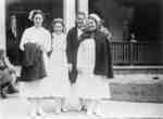 Four Nurses at the Ontario Hospital, c.1940