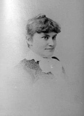 May Irwin, c.1882