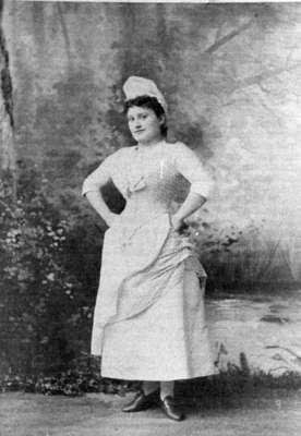 May Irwin, c.1885