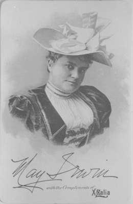 May Irwin, 1894