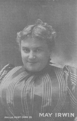 May Irwin, c.1905