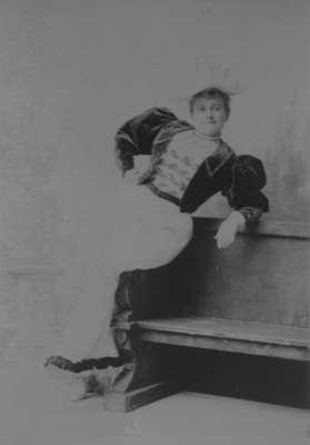 May Irwin, c.1890
