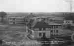Cottages and Infirmary looking North West at Military Convalescent Hospital, 1918